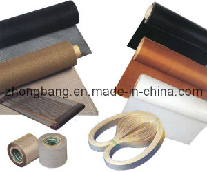PTFE Coated Fiberglass Fabric Silicon Adhesive Tape pictures & photos