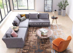 Modern L Shape Fabric Sofa pictures & photos