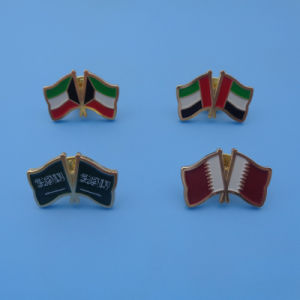Custom Middle East Country Flag Badges pictures & photos