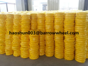 400-8 Flat Free PU Foam Wheel for Wheel Barrow pictures & photos