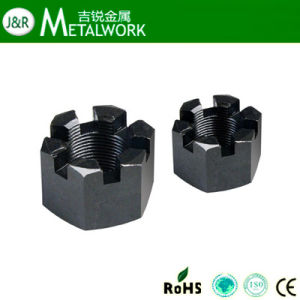 Stainless Steel Hex Castle Nut DIN935 pictures & photos