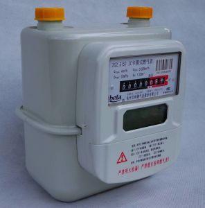 Steel Case IC Card Prepayment Gas Meter