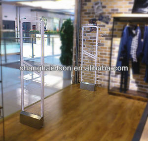 Transparent Acrylic 58kHz EAS Supermarket Security Gates System pictures & photos