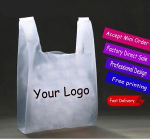 Printed High Quality T-Shirt Vest Bag pictures & photos