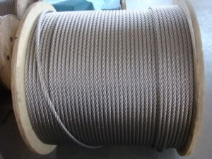 Marine Grade G316 Stainless Steel Wire Rope