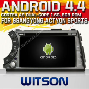 Witson Android 4.2 Car DVD for Ssangyong Actyon Sports with A9 Chipset 1080P 8g ROM WiFi 3G Internet DVR Support pictures & photos