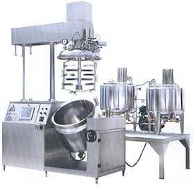 Cream Vacuum Emulsifying Machine (TFZR) pictures & photos