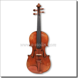 Warm Antique Oil Varnish 4/4 Advanced Conservatory Violin (VH400VA) pictures & photos