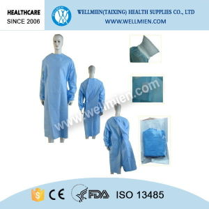 Medical Supplies Disposable Sterile Protective Surgical Gown pictures & photos