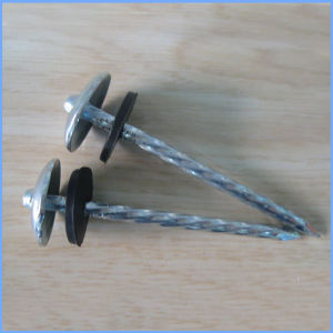 Carbon Steel Mushroom Head Roofing Nail with Rubber Washer pictures & photos