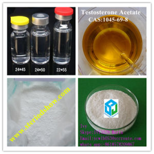 Bodybuilding Steroid Testosterone Acetate CAS: 1045-69-8 Muscle Gain Supplement pictures & photos