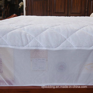 Terry Towel with TPU Film Waterproof Mattress Protector pictures & photos