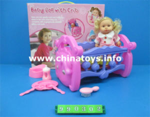 Promotional New Baby Toy Bed with Doll (990302) pictures & photos