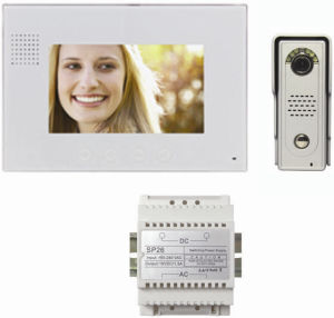 Slim Aluminum 7 Inch Handsfree Video Intercom for Villa pictures & photos