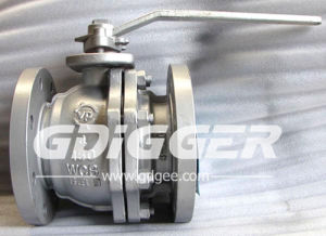 2PC Floating Full Bore Ball Valve pictures & photos