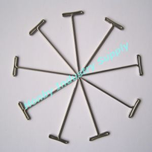 T Shape Steel Material 38mm Lab Application Head Pins