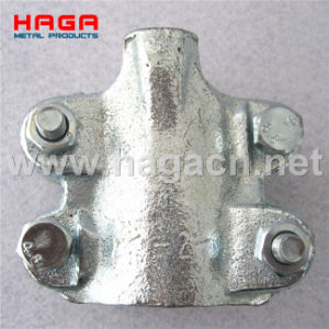 Malleable Iron Heavy Duty Clamp Interlocking Clamp with Four Bolt pictures & photos