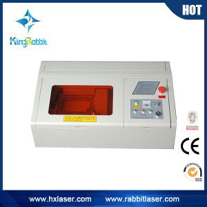 Mini Desktop Rabbit Hx-40A Laser Engraving Machine pictures & photos