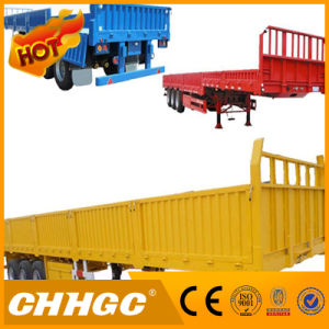 3axle Semi-Trailer with Flat Type Side Wall pictures & photos
