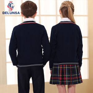New England School Uniform Sweaters Factory Primary Kids Uniform pictures & photos