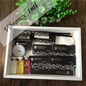 High Hotel Disposable Black Soft Paper Packaging Hotel Supplies pictures & photos