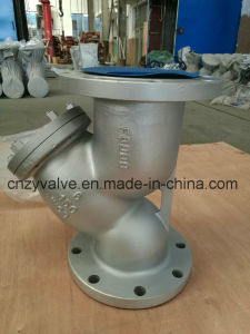 "API/DIN/JIS Cast Steel A216 Wcb 4"" Dn100 Y Strainer pictures & photos"