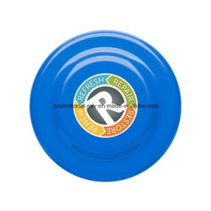 Outdoor Plastic Large Flying Disc with Beveled Center pictures & photos