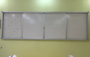 Magnetic Whiteboard, Sliding School Blackboard pictures & photos