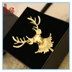 Christmas Ornaments Fashion Punk Moose Head Brooch Corsage pictures & photos