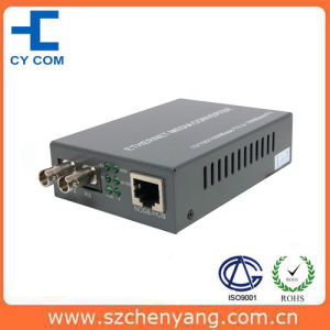 10 / 100m Dual Fiber Sm 25km St Fiber Optic Media Converter