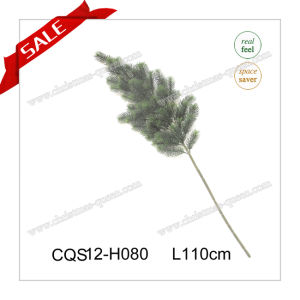 Real Feel Christmas Outdoor Plastic Decoration Craft Pine Artificial Branches Gift Flower 35-110cm pictures & photos