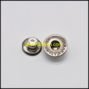 Anti. Nickel Metal Jeans Button for Trousers