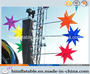 2015 Hot Selling Decorative LED Lighting Inflatable Star 0041 for Event, Celebration