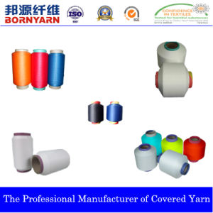 Polyester Spandex Yarn, Air Covered pictures & photos