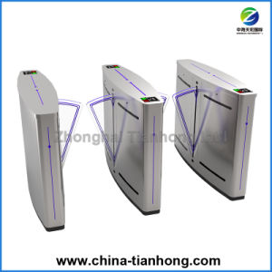 Optical Half Waist Flap Barrier Gate Turnstile Th-Fsg228 pictures & photos