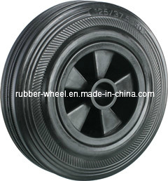 "5""Solid Rubber Wheel"