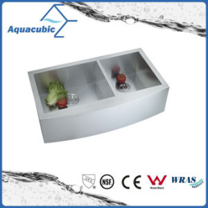 Stainless Steel Man-Made Farmhouse Kitchen Sink (ACS3322A2Q-46) pictures & photos