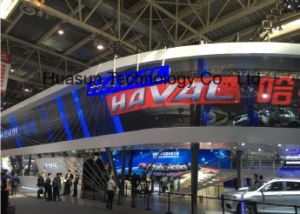 Outdoor Building Advertising LED Transparent Display pictures & photos