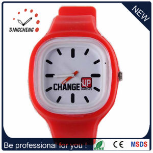 Gift Silicone Jelly Model Night Light Watch (DC-1050) pictures & photos