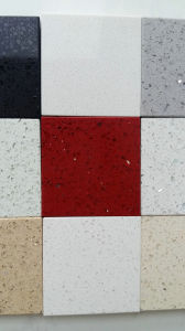 Red Color Galaxy Red Quartz Stone Floor Tile pictures & photos