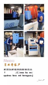 1mm 2mm Steel Fiber 300W Laser Metal Cutting Machine (JQ-1325 FIBER300W) pictures & photos