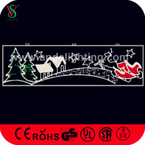 Outdoor Christmas Across Street Decoration Rope Motif Lights pictures & photos