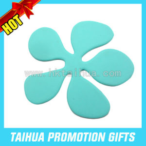 Custom Radiating Silicone Coaster/Silicone Mat/Rubber Pad (TH-09646) pictures & photos