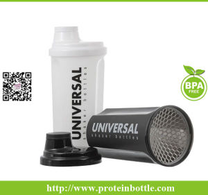 600ml Bodybuilding Shaker with Strainer pictures & photos