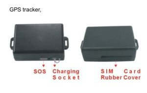 Car GPS Tracker Monitor Waterproof Magnet Sos pictures & photos
