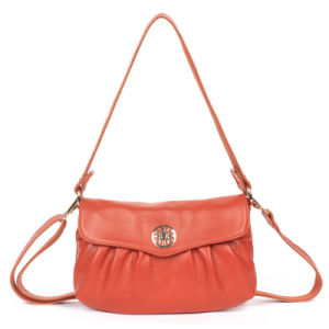 China European Design Genuine PU Leather Branded Sling Bag ...