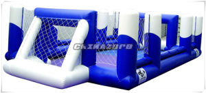 Custom Made Inflatable Football Field for Bubble Soccer Games