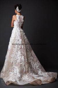 New Applique Bridal Dresses Court Train Wedding Ball Gowns Z2029 pictures & photos