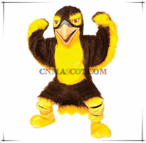 Amazing Quality Plush Eagle Mascot Costume for Sale