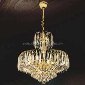 Hot Sale Golden Crystal Pendent Lamp (AQ-7094) pictures & photos